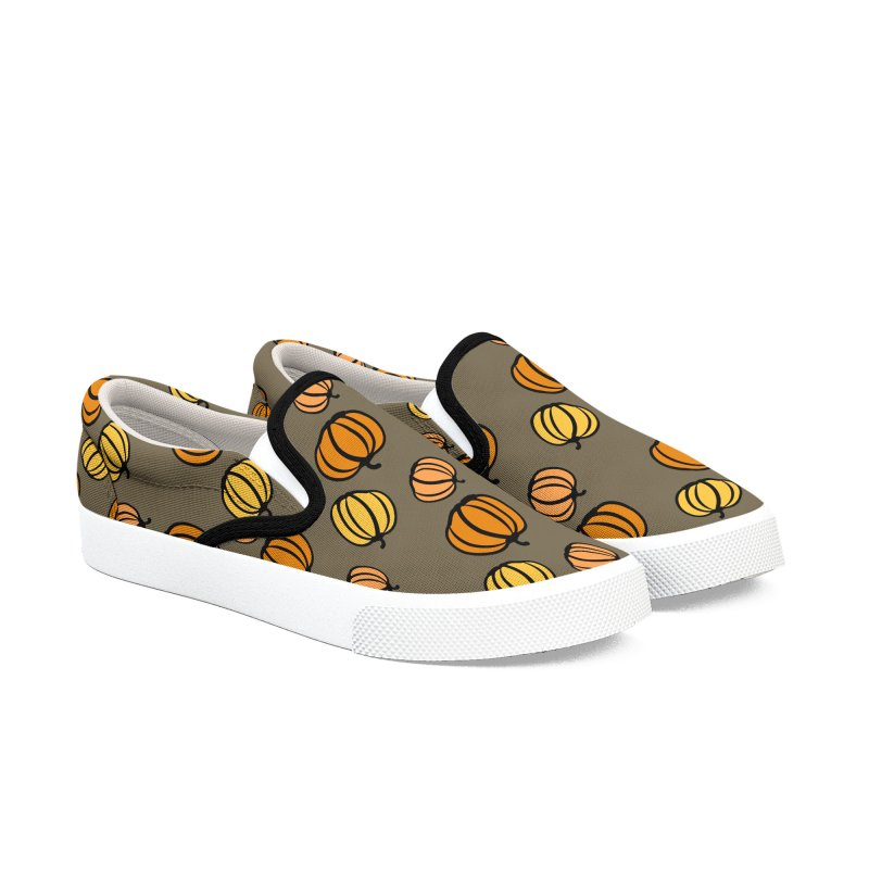 Pumpkins Women's Slip-On Shoes by cindyshim's Artist Shop