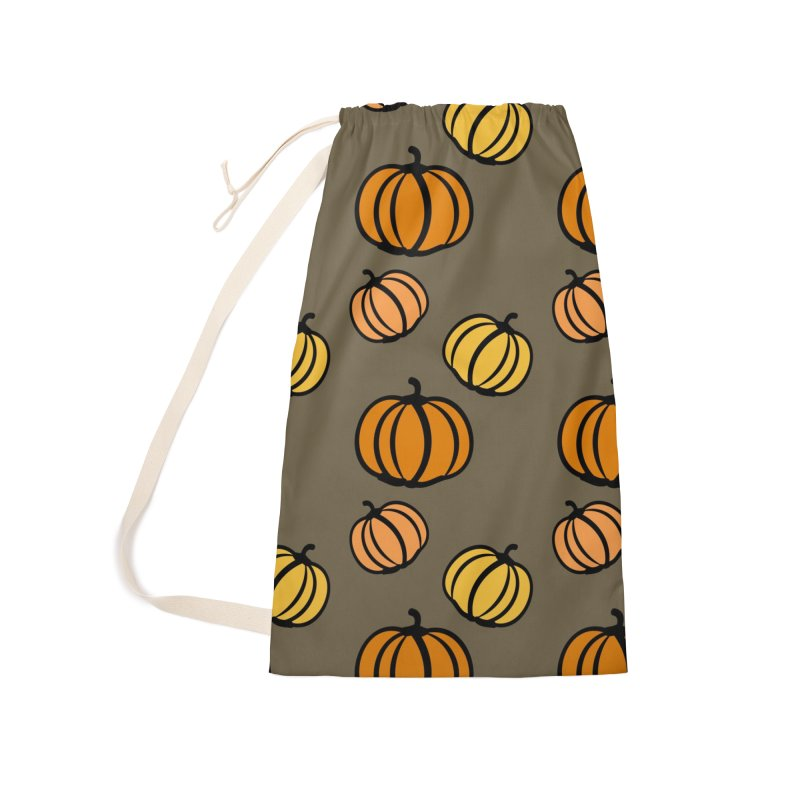 Pumpkins Accessories Laundry Bag Bag by cindyshim's Artist Shop