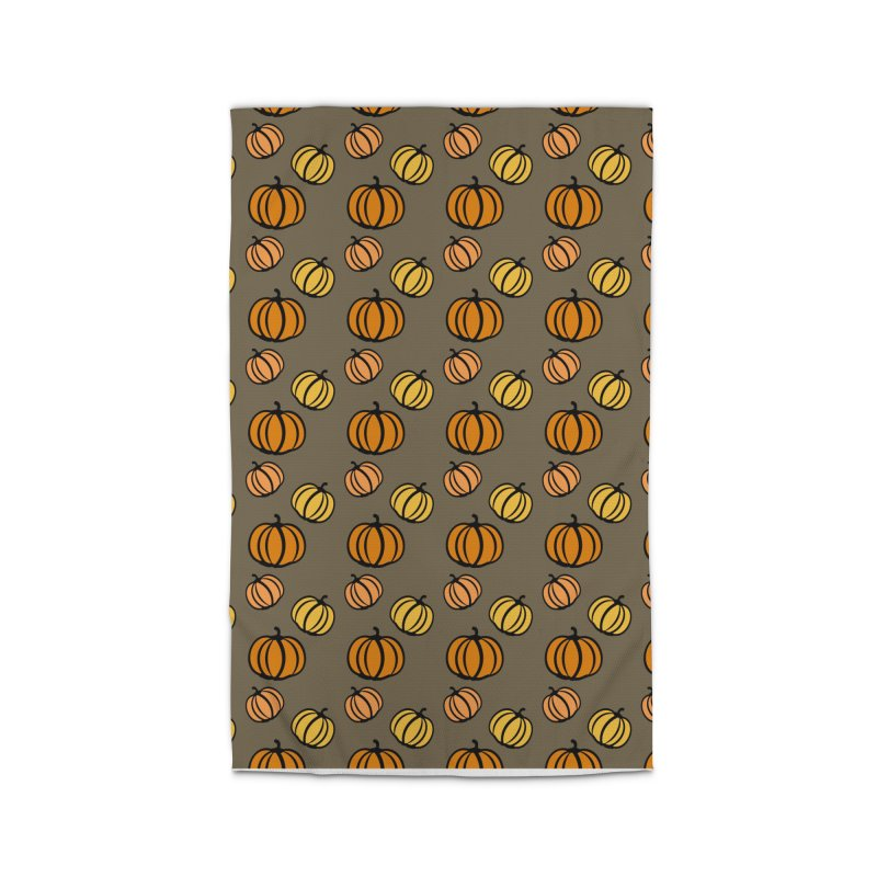 Pumpkins Home Rug by cindyshim's Artist Shop