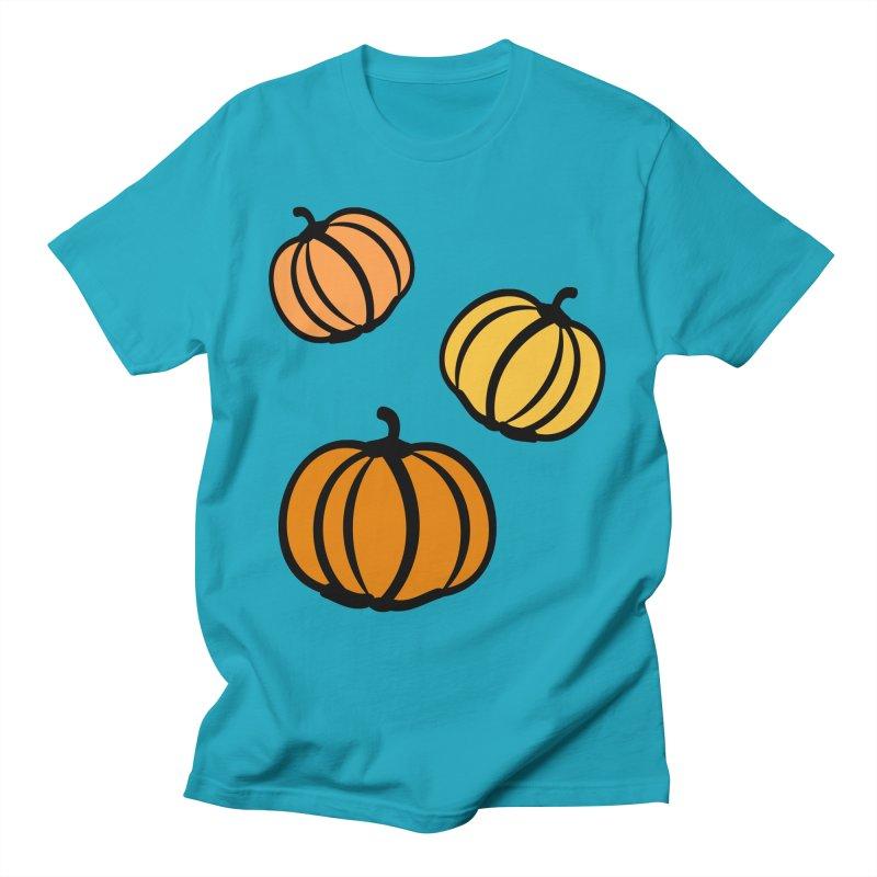 Pumpkins Men's T-Shirt by cindyshim's Artist Shop