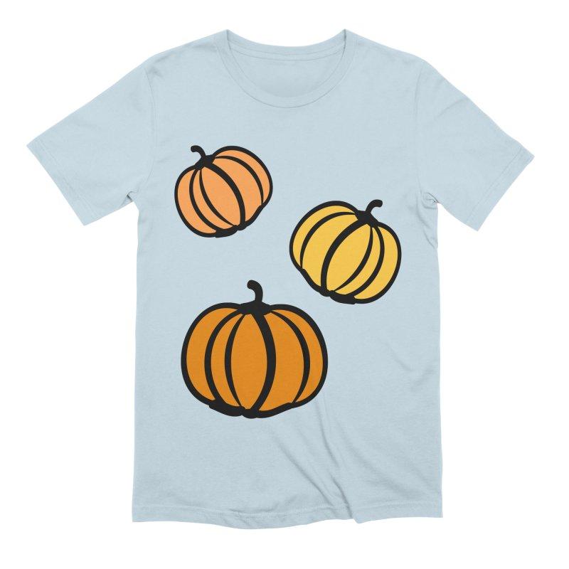 Pumpkins Men's Extra Soft T-Shirt by cindyshim's Artist Shop