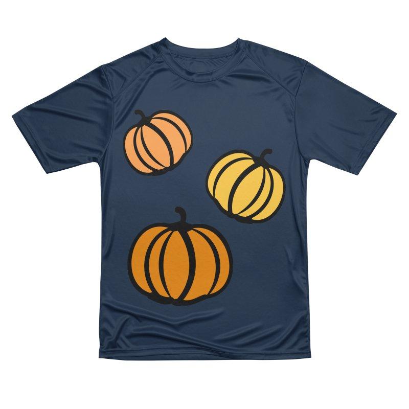 Pumpkins Women's Performance Unisex T-Shirt by cindyshim's Artist Shop