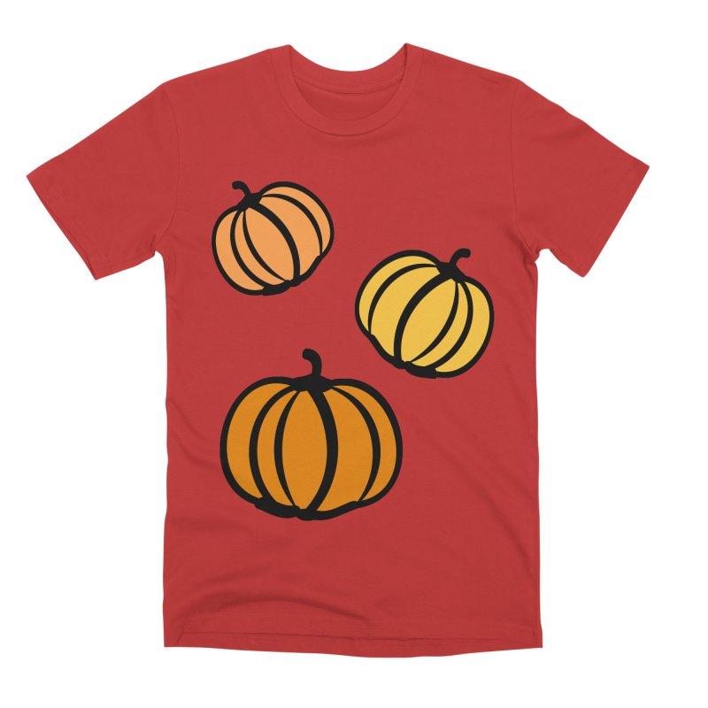 Pumpkins Men's Premium T-Shirt by cindyshim's Artist Shop