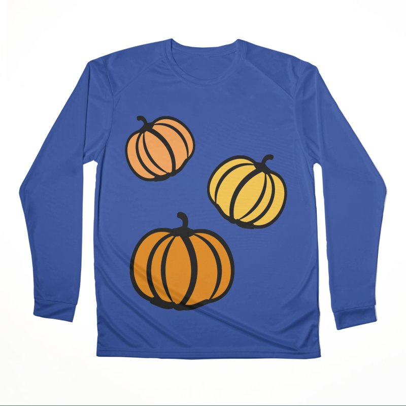 Pumpkins Women's Performance Unisex Longsleeve T-Shirt by cindyshim's Artist Shop