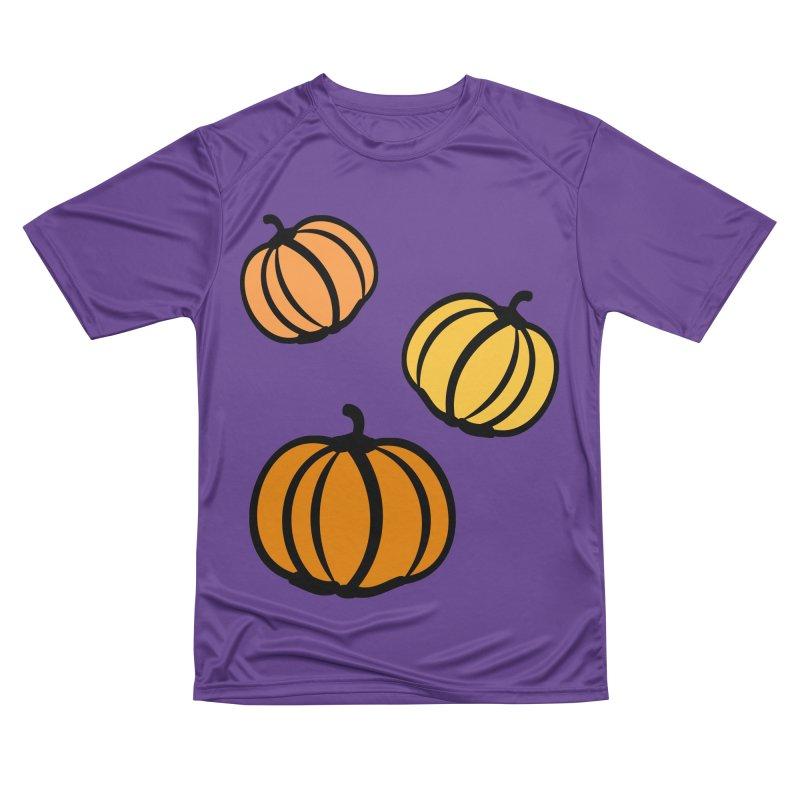 Pumpkins Men's Performance T-Shirt by cindyshim's Artist Shop