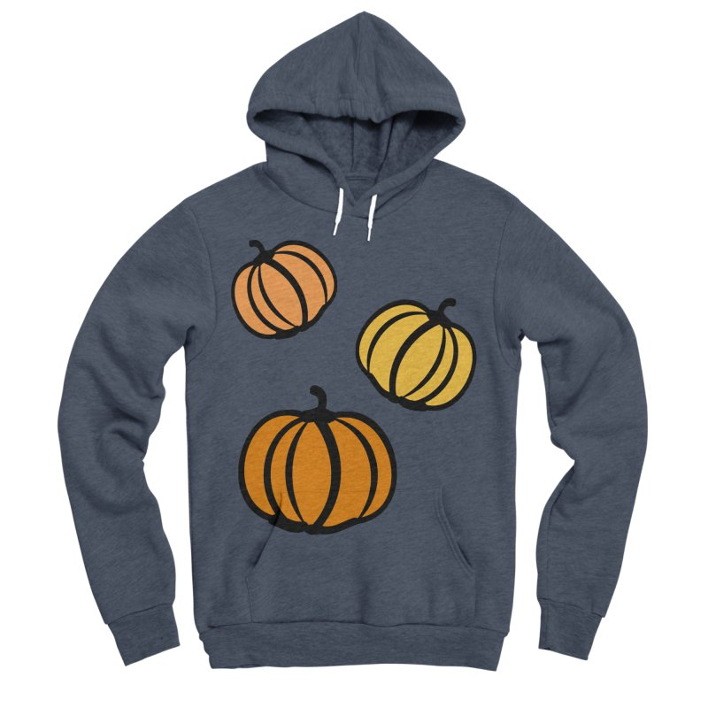 Pumpkins Men's Sponge Fleece Pullover Hoody by cindyshim's Artist Shop