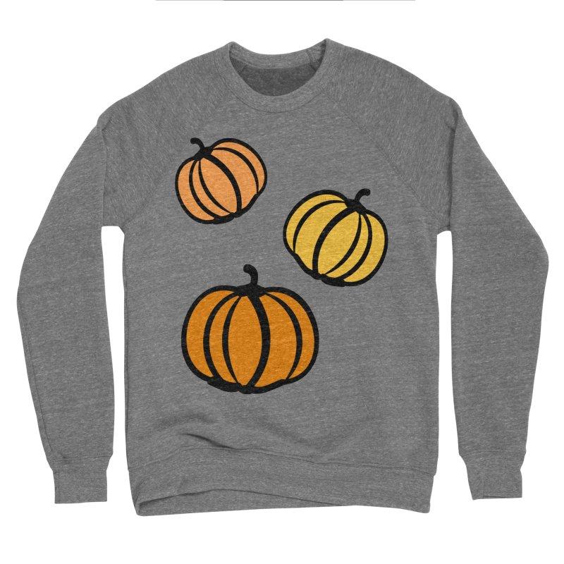 Pumpkins Women's Sponge Fleece Sweatshirt by cindyshim's Artist Shop