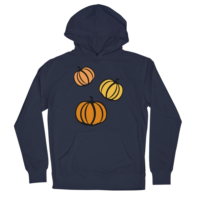 Pumpkins Women's French Terry Pullover Hoody by cindyshim's Artist Shop