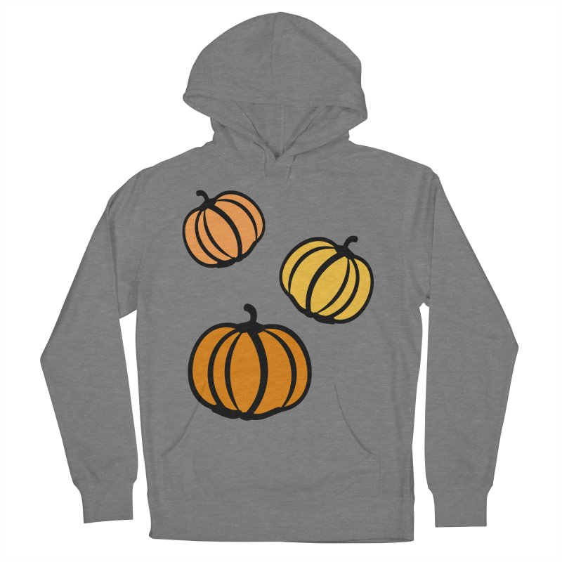 Pumpkins Men's French Terry Pullover Hoody by cindyshim's Artist Shop