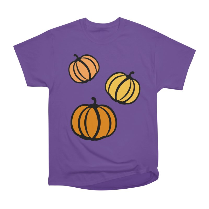 Pumpkins Women's Heavyweight Unisex T-Shirt by cindyshim's Artist Shop