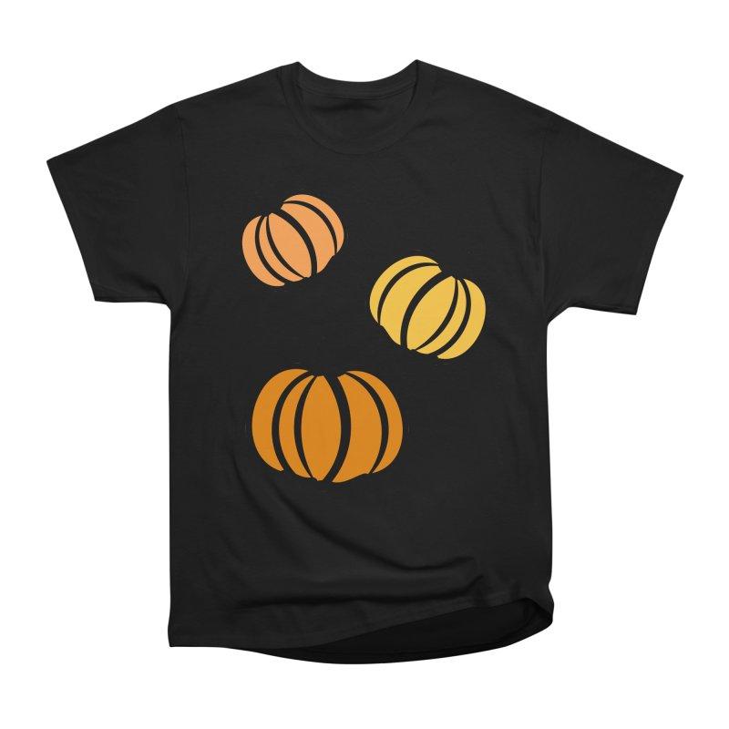 Pumpkins Men's Heavyweight T-Shirt by cindyshim's Artist Shop