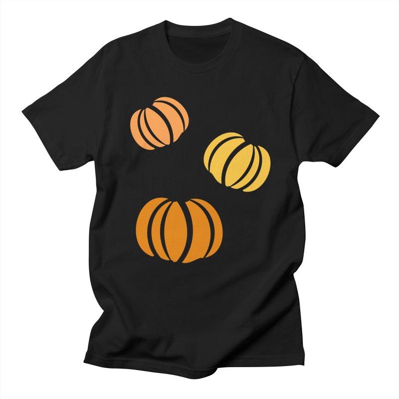 Pumpkins Men's Regular T-Shirt by cindyshim's Artist Shop