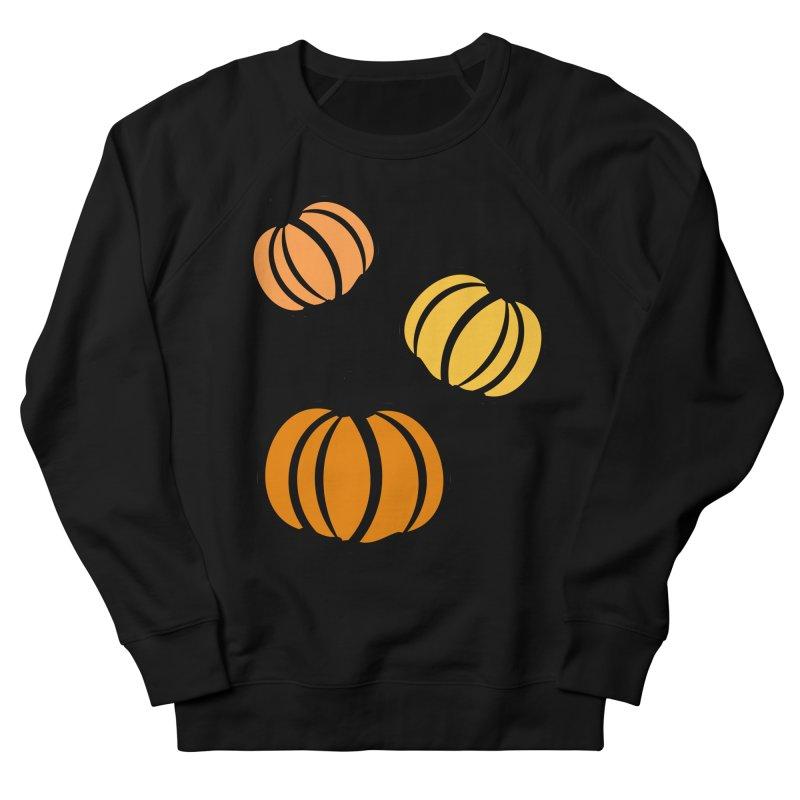 Pumpkins Women's French Terry Sweatshirt by cindyshim's Artist Shop
