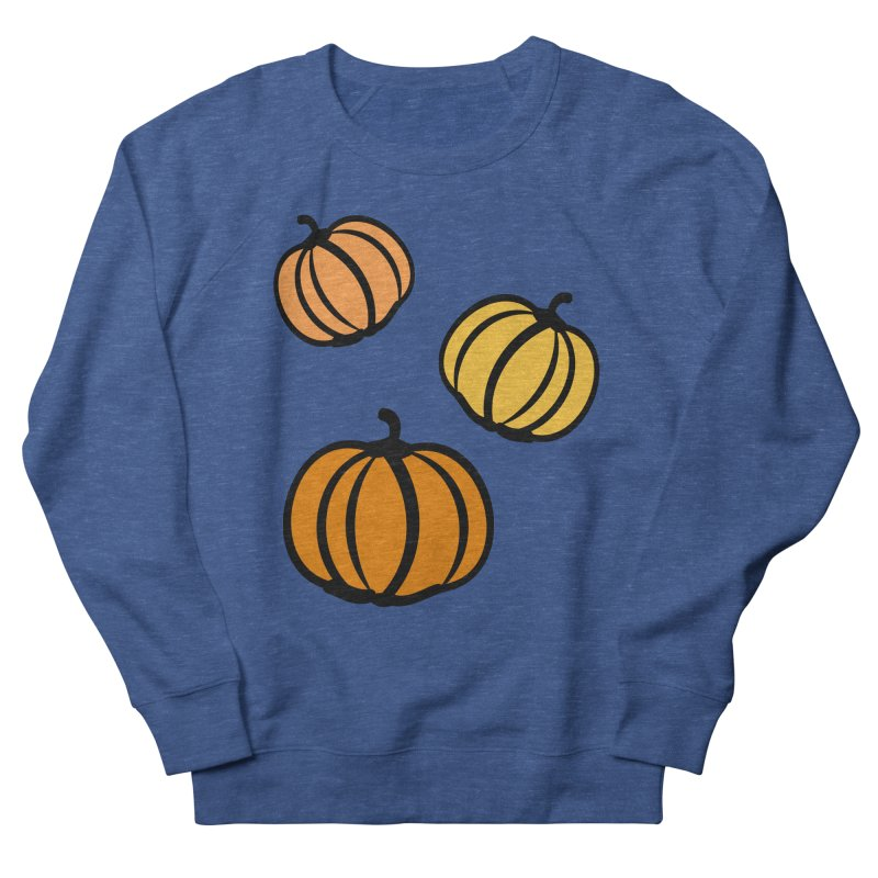 Pumpkins Men's French Terry Sweatshirt by cindyshim's Artist Shop