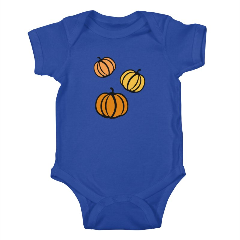 Pumpkins Kids Baby Bodysuit by cindyshim's Artist Shop