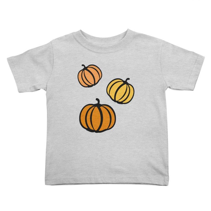 Pumpkins Kids Toddler T-Shirt by cindyshim's Artist Shop