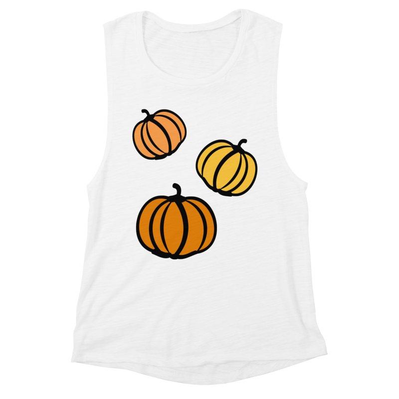 Pumpkins Women's Muscle Tank by cindyshim's Artist Shop