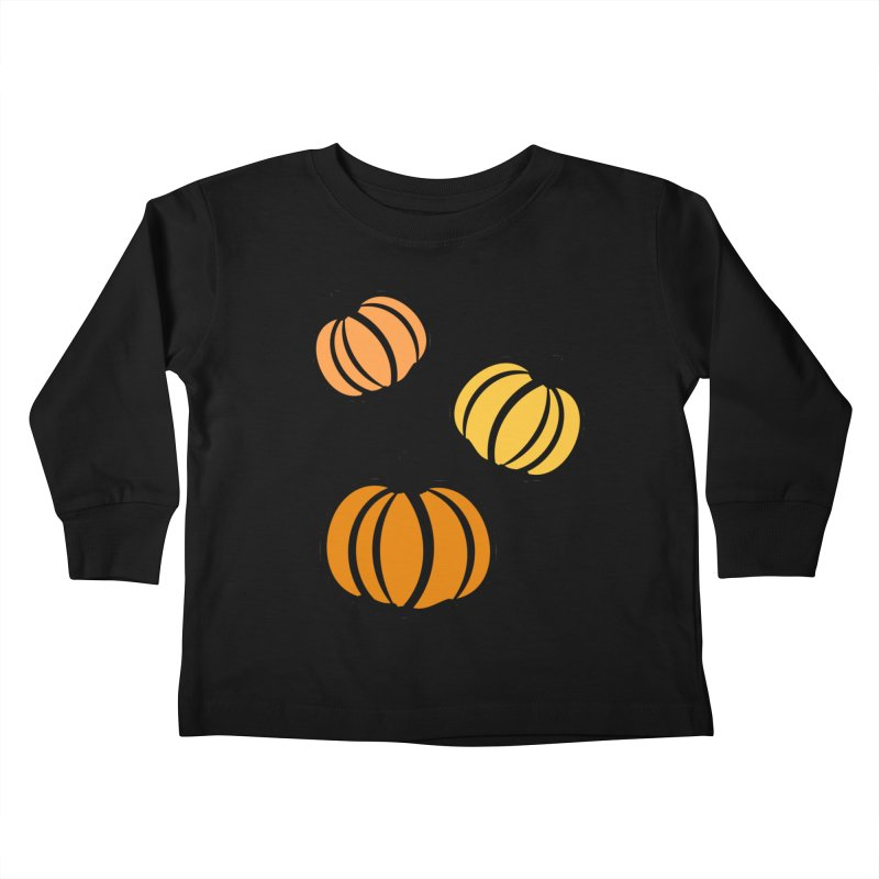 Pumpkins Kids Toddler Longsleeve T-Shirt by cindyshim's Artist Shop