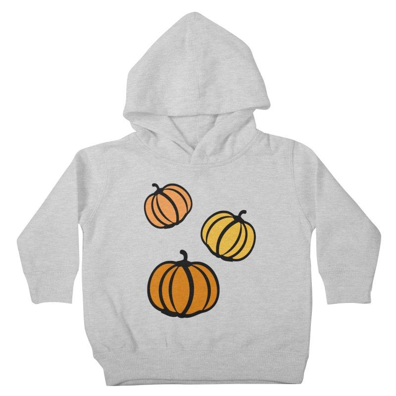Pumpkins Kids Toddler Pullover Hoody by cindyshim's Artist Shop