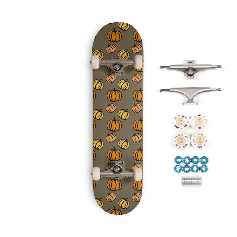 Pumpkins Accessories Complete - Premium Skateboard by cindyshim's Artist Shop