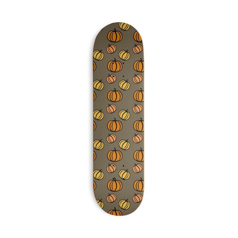 Pumpkins Accessories Deck Only Skateboard by cindyshim's Artist Shop