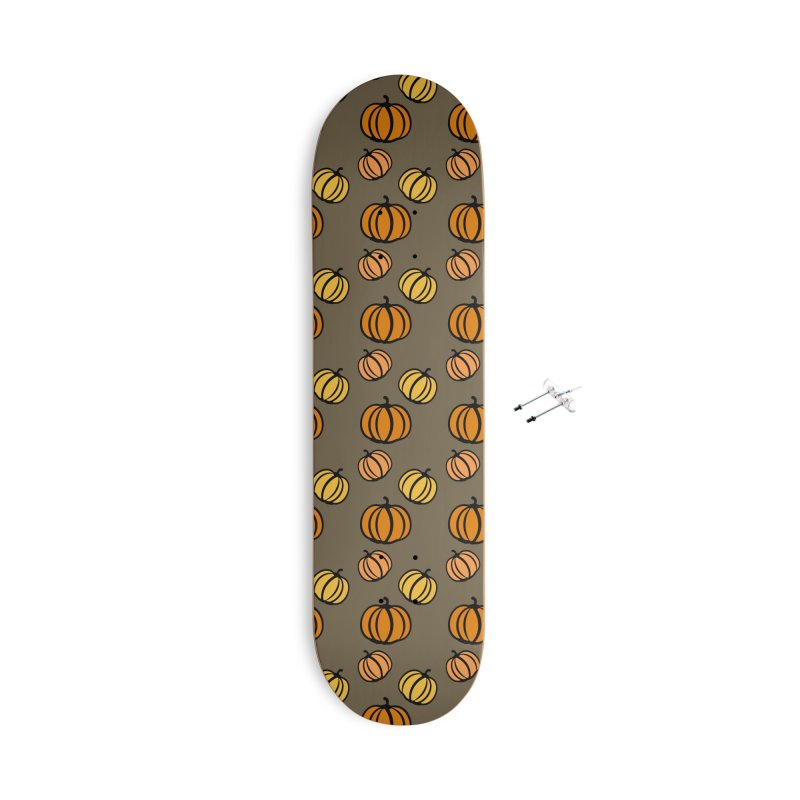 Pumpkins Accessories With Hanging Hardware Skateboard by cindyshim's Artist Shop