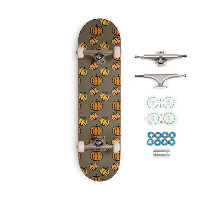 Pumpkins Accessories Complete - Basic Skateboard by cindyshim's Artist Shop