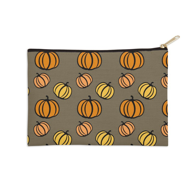 Pumpkins Accessories Zip Pouch by cindyshim's Artist Shop