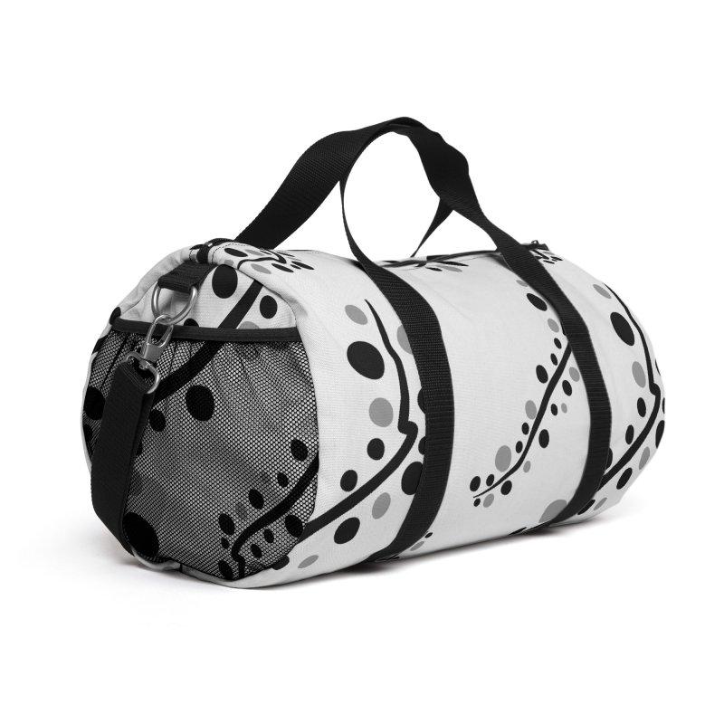 bubbles stripe pattern 1 Accessories Bag by cindyshim's Artist Shop
