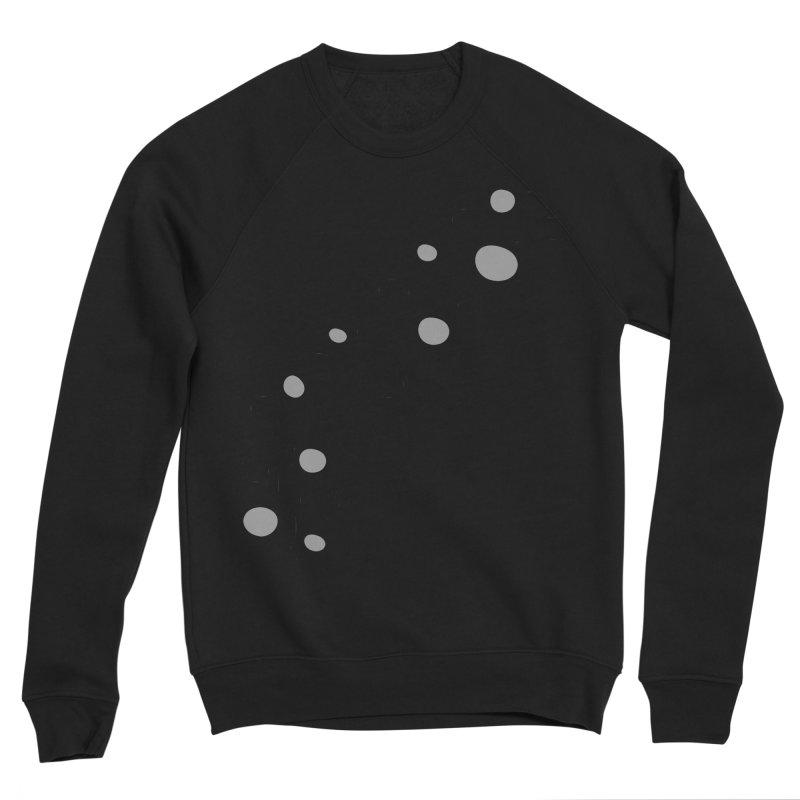 bubbles stripe pattern 1 Women's Sponge Fleece Sweatshirt by cindyshim's Artist Shop