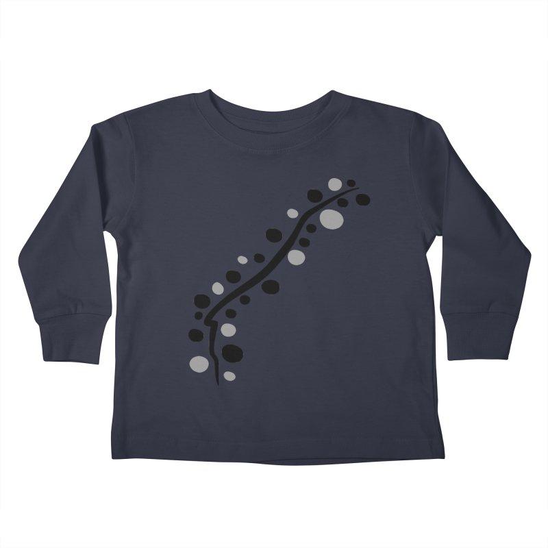 bubbles stripe pattern 1 Kids Toddler Longsleeve T-Shirt by cindyshim's Artist Shop