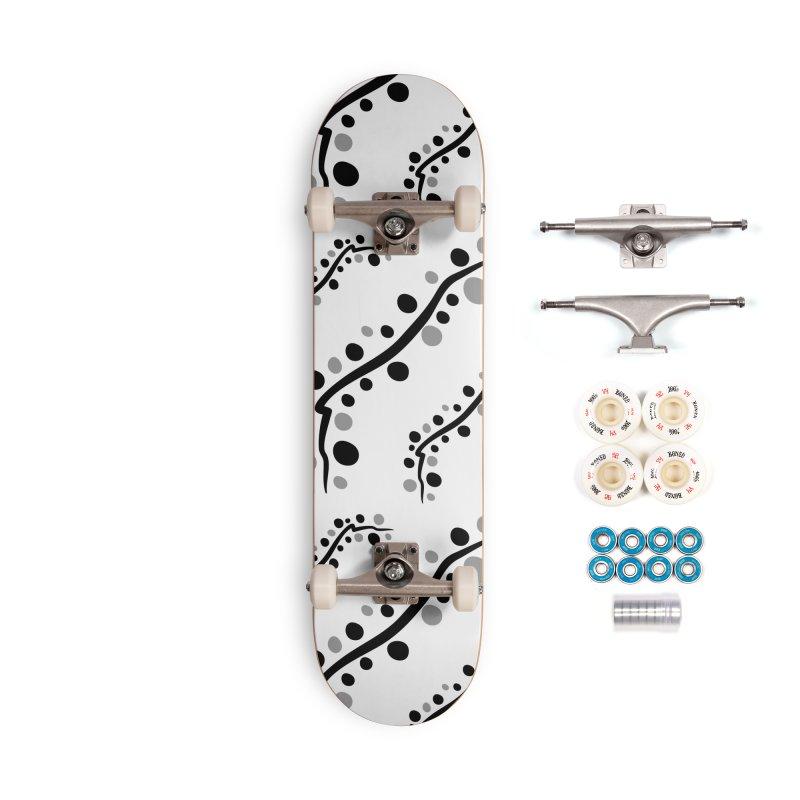 bubbles stripe pattern 1 Accessories Complete - Premium Skateboard by cindyshim's Artist Shop
