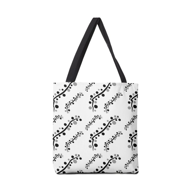 bubbles stripe pattern 1 Accessories Tote Bag Bag by cindyshim's Artist Shop