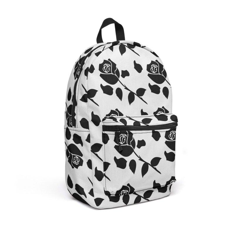 Black rose Accessories Backpack Bag by cindyshim's Artist Shop