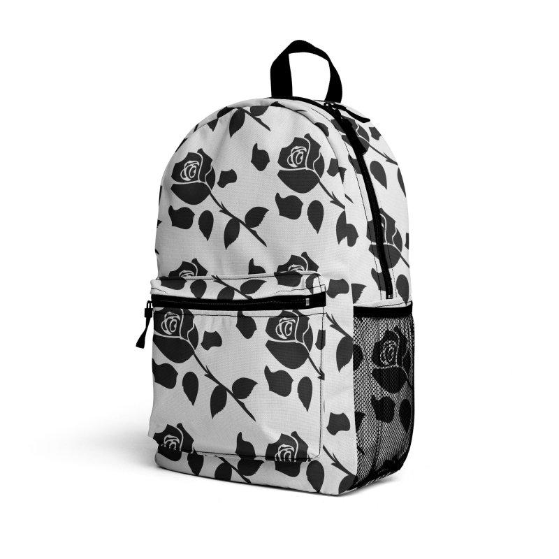Black rose Accessories Bag by cindyshim's Artist Shop