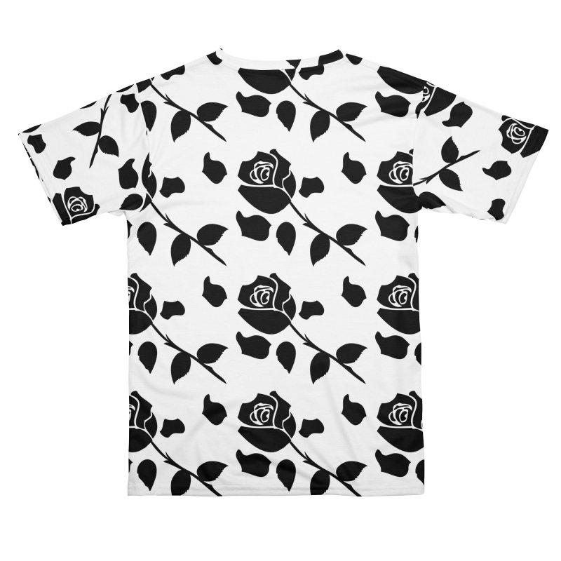 Black rose Men's Cut & Sew by cindyshim's Artist Shop
