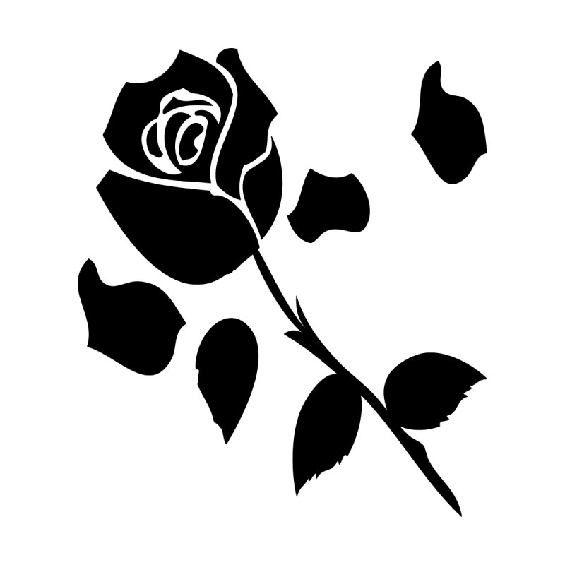Black rose Accessories Magnet by cindyshim's Artist Shop