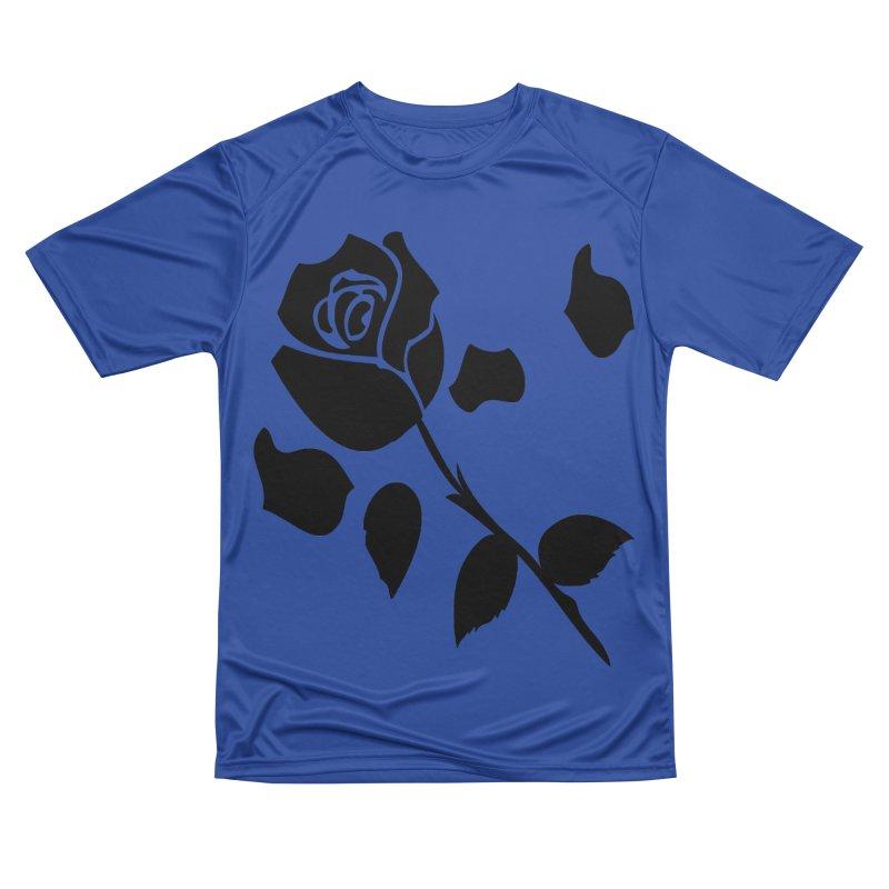 Black rose Men's Performance T-Shirt by cindyshim's Artist Shop