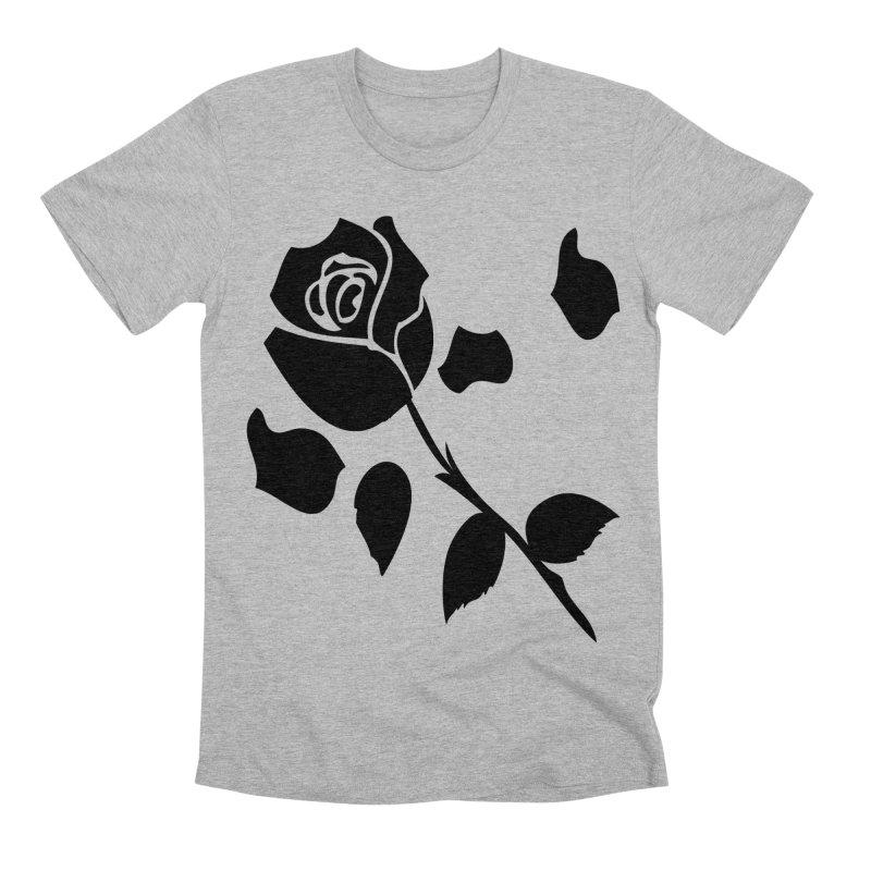 Black rose Men's Premium T-Shirt by cindyshim's Artist Shop