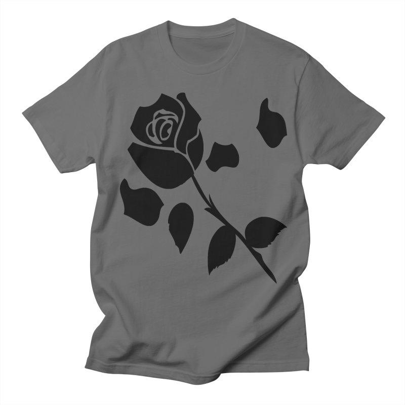 Black rose Men's T-Shirt by cindyshim's Artist Shop