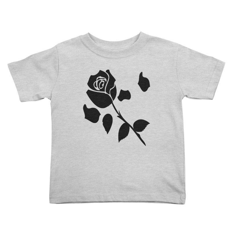 Black rose Kids Toddler T-Shirt by cindyshim's Artist Shop