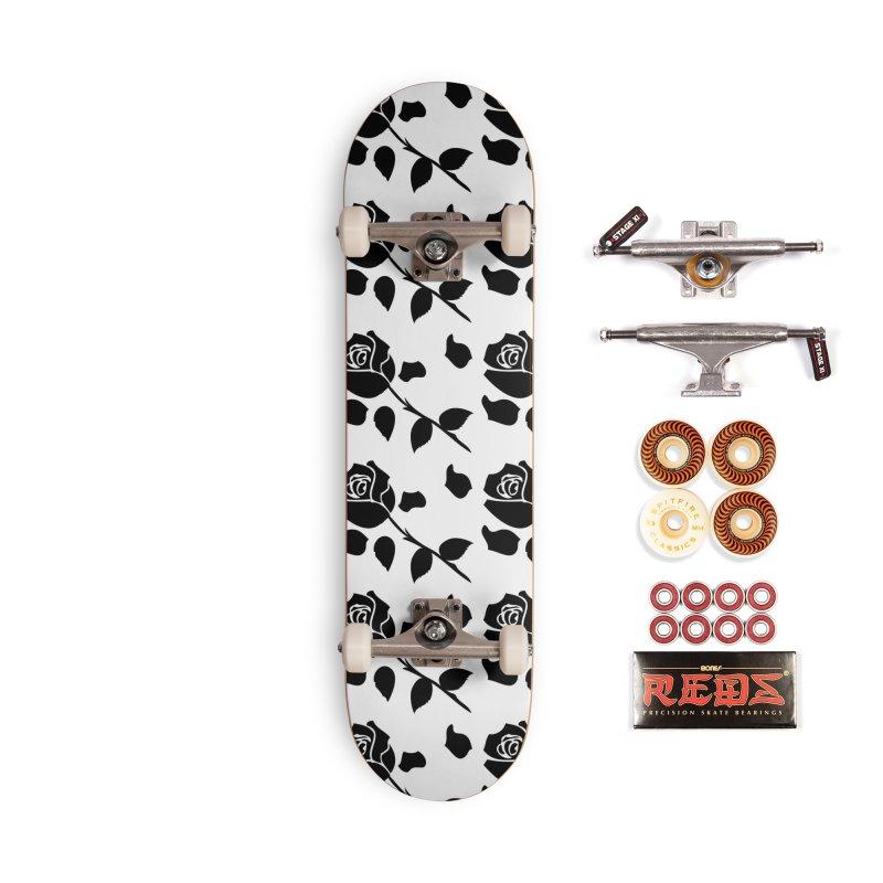 Black rose Accessories Skateboard by cindyshim's Artist Shop