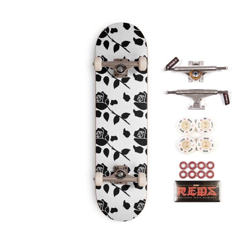 Black rose Accessories Complete - Pro Skateboard by cindyshim's Artist Shop