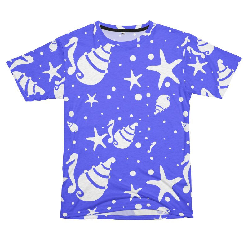 Underwater world Women's Unisex French Terry T-Shirt Cut & Sew by cindyshim's Artist Shop