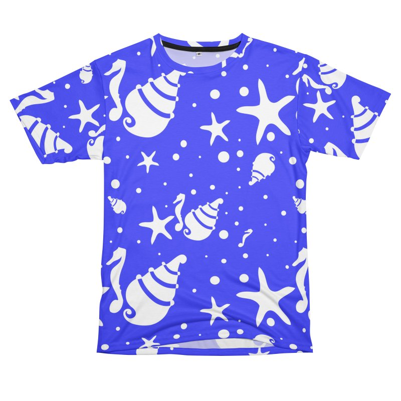 Underwater world Women's Unisex T-Shirt Cut & Sew by cindyshim's Artist Shop