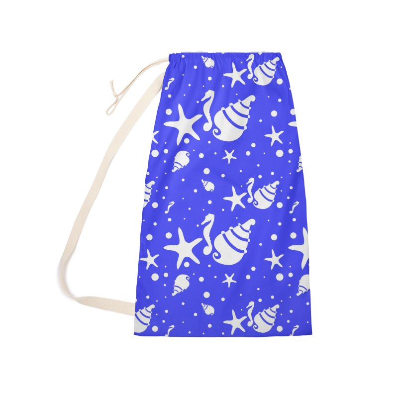 Underwater world Accessories Laundry Bag Bag by cindyshim's Artist Shop