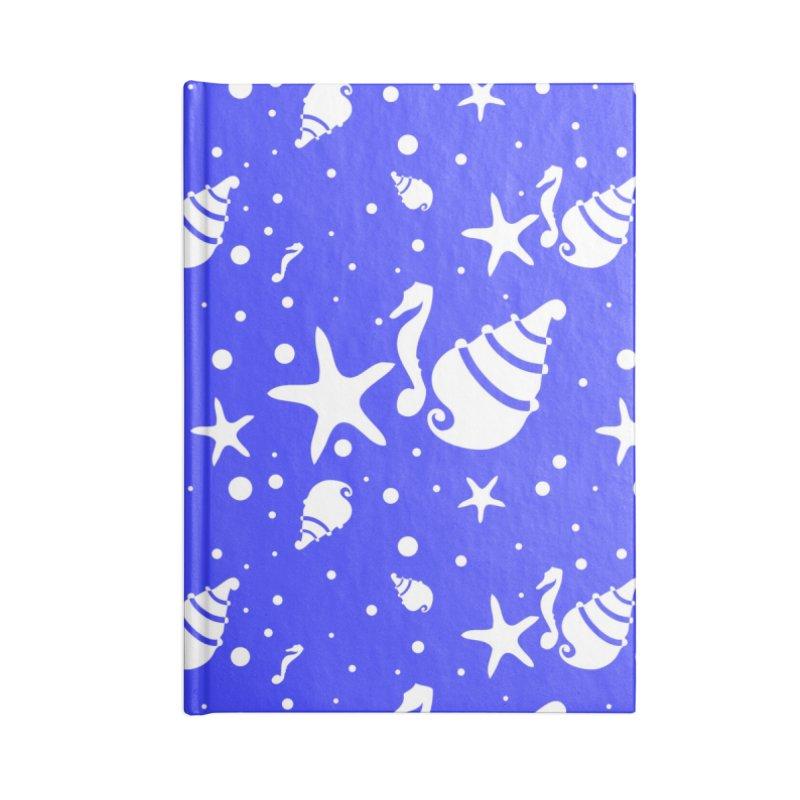 Underwater world Accessories Lined Journal Notebook by cindyshim's Artist Shop