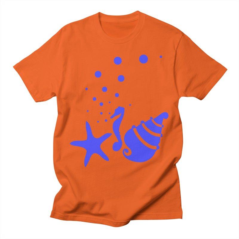 Underwater world Men's T-Shirt by cindyshim's Artist Shop