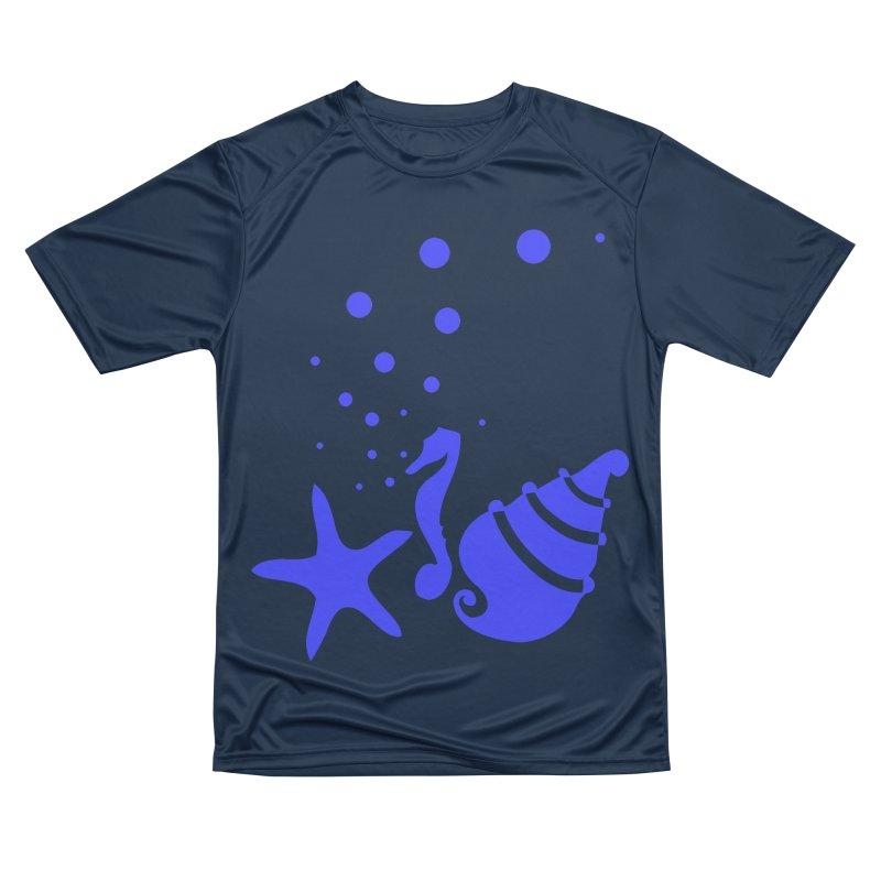 Underwater world Women's Performance Unisex T-Shirt by cindyshim's Artist Shop