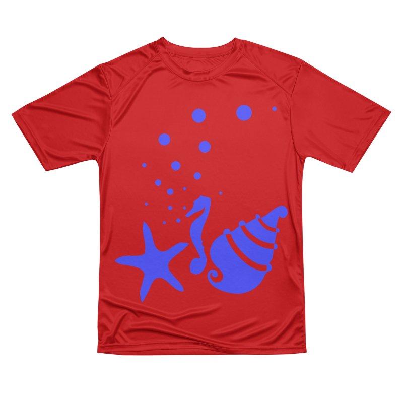 Underwater world Men's Performance T-Shirt by cindyshim's Artist Shop